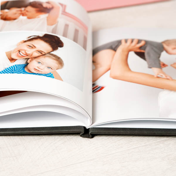 Family Fotolibro Copertina rigida in tessuto